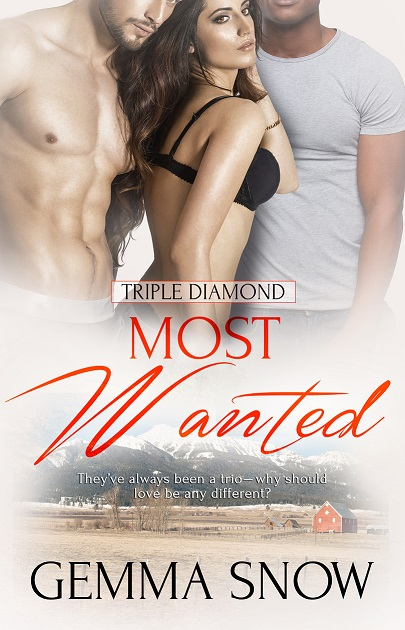 The cover of Gemma's novel Most Wanted